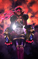 Vi the Piltover Enforcer by Pulse-of-Gravity