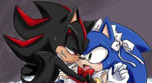 YAOI:sonic maid by GaruGiroSonicShadow