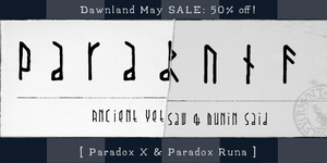 Promoted 2012 - paradox by dawnland