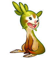 Chespin by Rockman0