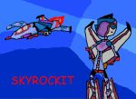 Sky and Her Alt Mode Coloured by xxxBrokenSoulxxx