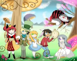 Cosplay in Wonderland by Kazia-Kat
