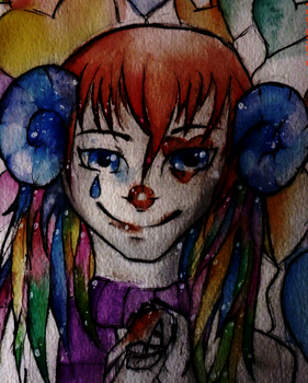 Rainbow Clown by Neofelies