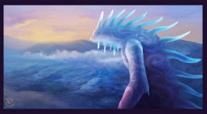 meeting last dawn, (fan art, Princess Mononoke) by DanteCyberMan