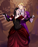 fem!Krory and male!Eliade by H8ARO