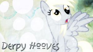Derpy Hooves Desktop Wallpaper! by 4EverRandomPuppy20