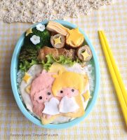 Kiki and Lala Bento Lunch box by loveewa