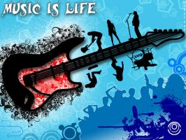 Music Is Life by skyleaf