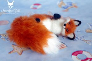 red fox 5'' iii by SaniAmaniCrafts