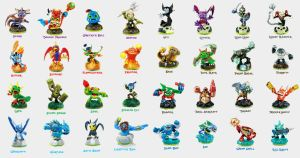 Skylanders Figures by Xelku9