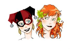 HaRlEyQuInN aNd PoIsOn IvY by saltares2