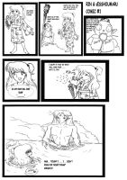 Rin and Sesshoumaru comic by GG-lover