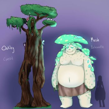 Plantgoids by Chibi-Works