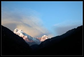 Annapurna South Later by didumdidum