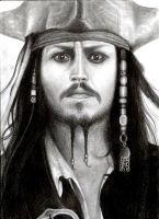 Captain Jack Sparrow by allanamnvarupptagna
