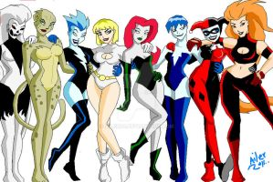 DC bad girls by ailer00