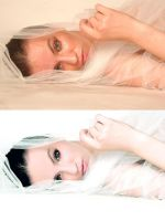 before and after - angel eyes by is2boogleyfish