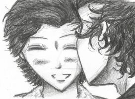 Midnight Memories!Larry by MANGAMANIAC666