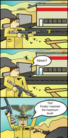 Battlefield 3 Cartoon strip by WizE-KevN