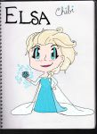 Elsa coloured by Beaute-curieux