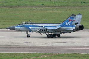 Mikoyan MiG-31 by FPSRussia123