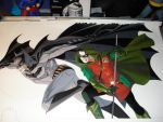 Batman and Robin Step 4 by BroHawk