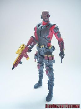 Deadshot Suicide Squad modded action figure by Jedd-the-Jedi