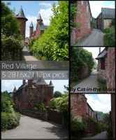 Red VIllage Pack by Cat-in-the-Stock