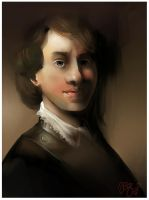 Rembrandt Master Study by GleeAtack