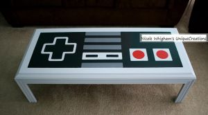 Nintendo Controller Coffee Table 5 by uniquecreations89