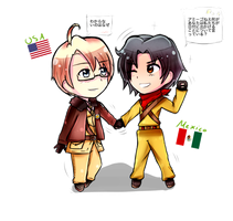 PC for Cioccotero part one- Alfred and Eduardo by Quenixy
