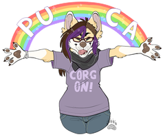 (G} corg on! by kaijuparty