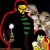 Dajjal and Mara trick or treat by ERIC-ARTS-inc