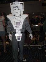 The Mighty Cyberman by LadyLewind