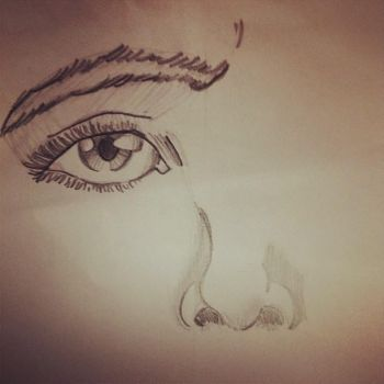 Just sketching by thilee