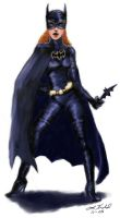 Batgirl by digistyle