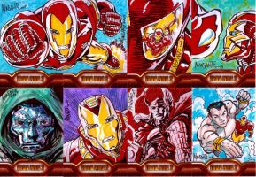 IRONMAN 2 cards 13-20 by gammaknight