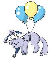 ...And Tiredcat Just Floated Away by PhantomPhoenix4