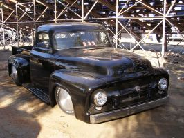 Black Ford Truck by Jetster1