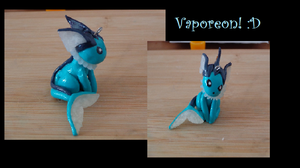 Vaporeon by LoekazCharms