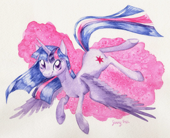 Princess Twilight Sparkle by bloominglove