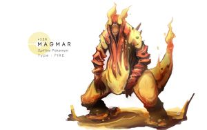 Magmar by MrRedButcher