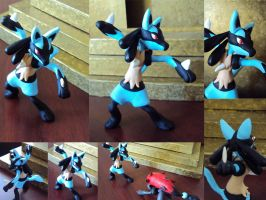 Lucario Commission by chow-marco