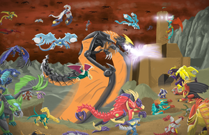 Dragons (Final) by Transypoo