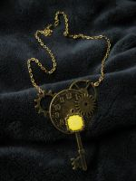 Steampunk Necklace for Amy by iambrose777