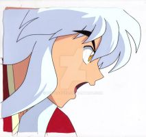 Inuyasha Production Cel by kikyo4ever