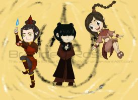 Ozai's Angels by Branded-Rose