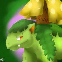 Shiny Pkdex Challenge- #003 Venusaur by Shinkou-san