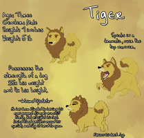Tiger -LA Reference- by Songdog-StrayFang