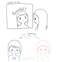 How to be beautiful by PeppermentPanda
